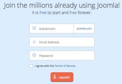 Create Free Joomla Website at Joomla.com