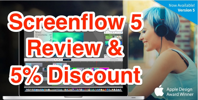 Screenflow discount coupon