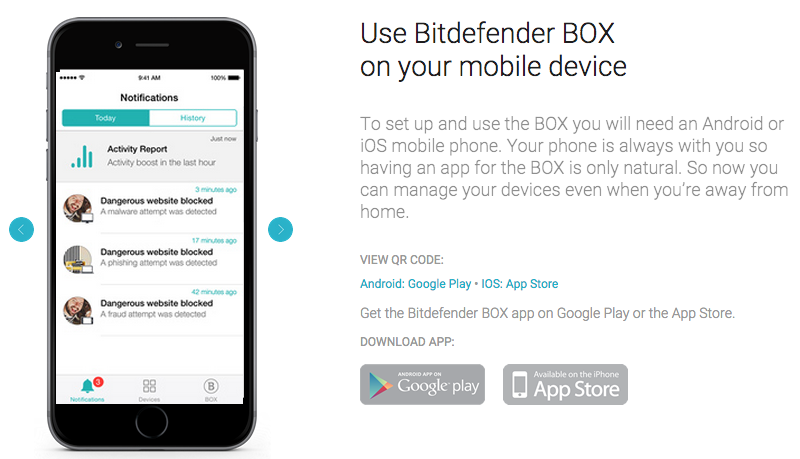 bitdefender box review iphone