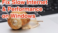 How to Speed Up Windows PC's Internet and System Performance?