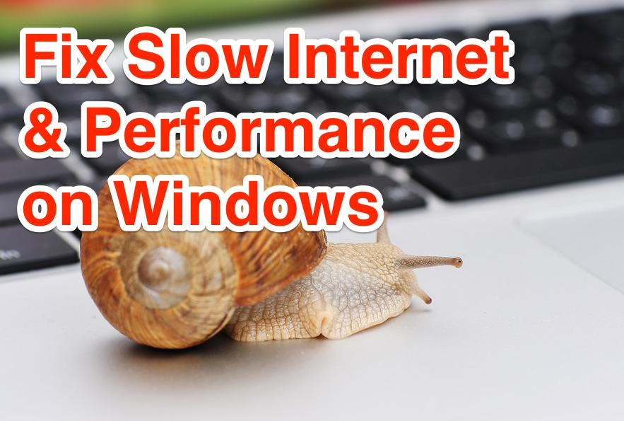 fix slow internet speed