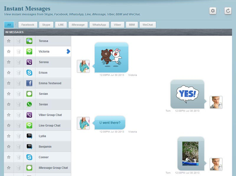 flexispy review instant messages