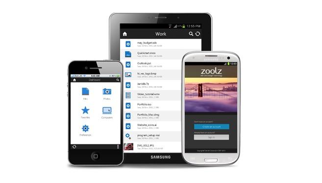 zoolz mobile app