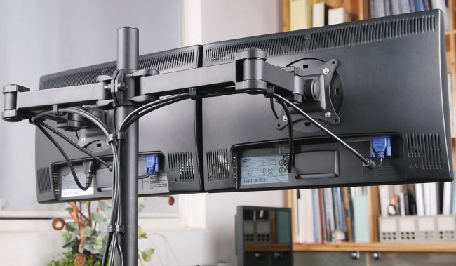 vivo dual mount arm stand