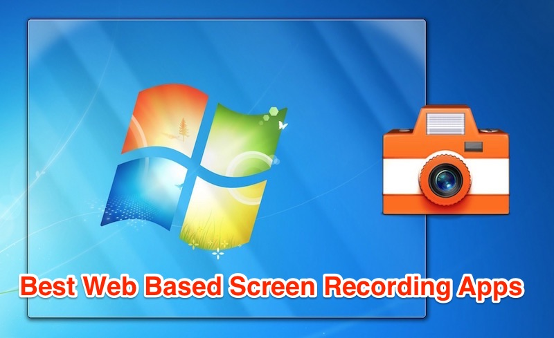 web based screen recording software apps