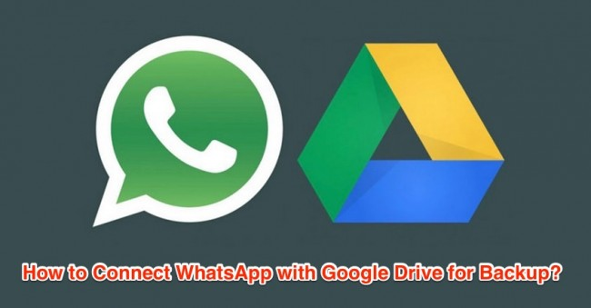 connect whatsapp with google drive