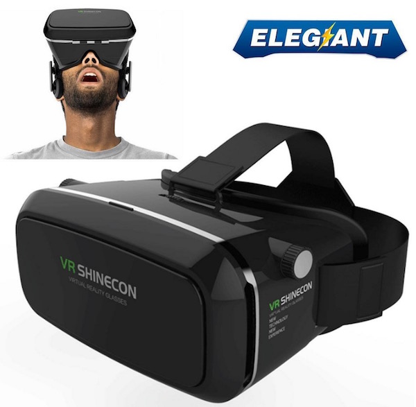 elegant 360 degree vr headset