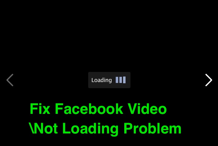 fix facebook video not loading problem