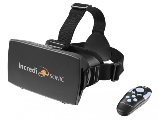 incredisonic virtual reality headset