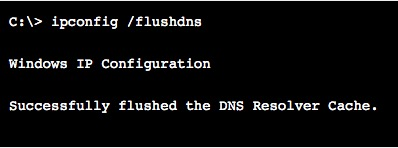 flush dns cache windows 10