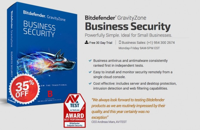 bitdefender business security discount coupons