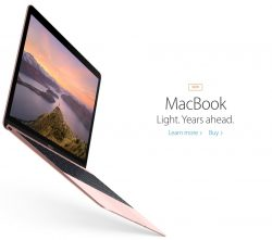 Apple Macbook 12 Inch gets Skylake Processor, RAM and Graphics Upgrade