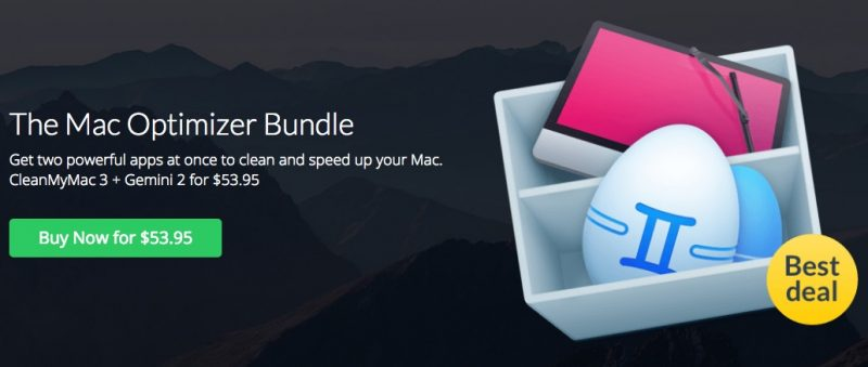 cleanmymac bundle offer discounts