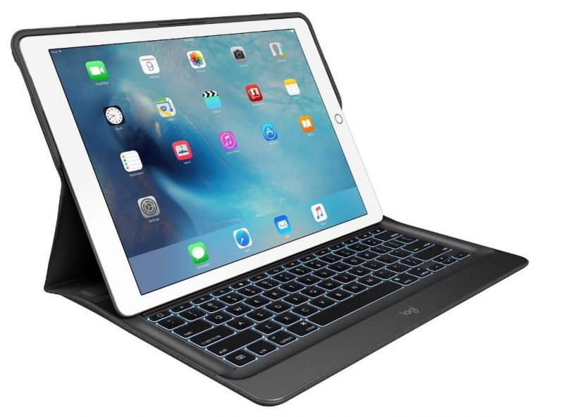 logitech create backlit keyboard ipad pro