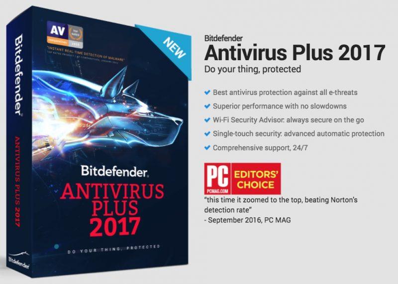 bitdefender antivirus plus 2017 review discount coupons