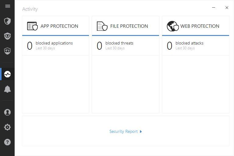 bitdefender internet security 2017 activity