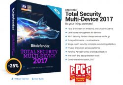 Bitdefender Total Security 2017 Review and up to 50% Discount Coupon Codes