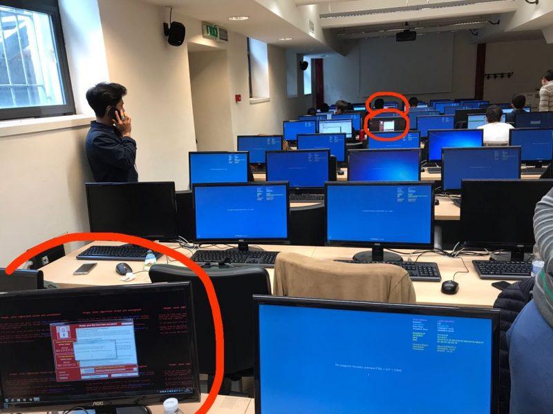 wannacry ransomware windows