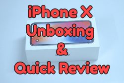 iphonex unboxing and quick review