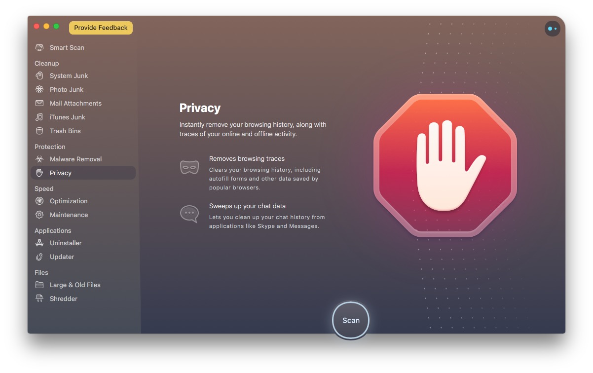 cleanmymac x review privacy