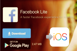 facebook lite iphone ios