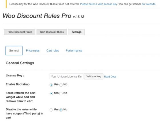 discount rules woocommerce pro coupon settings