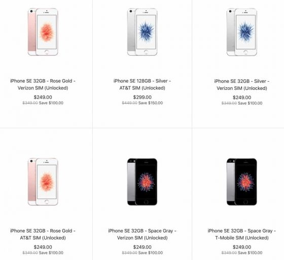 iphone se discount clearance sale