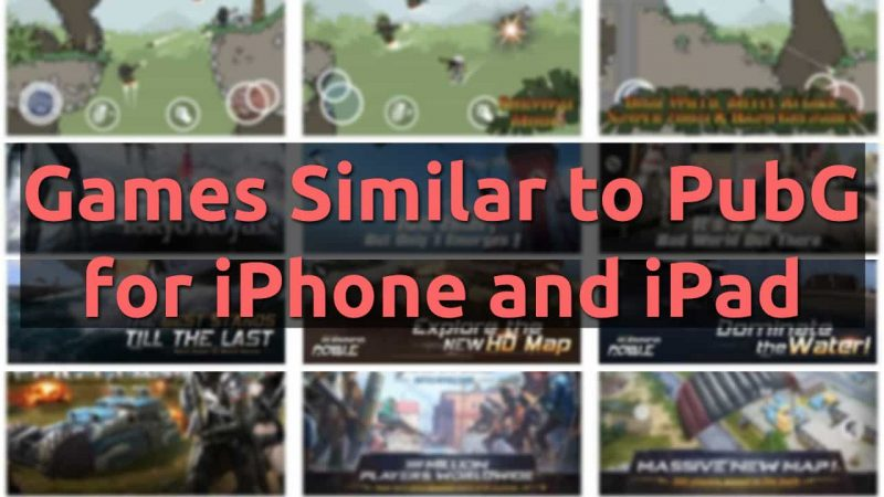 download games similar to iphone and ipad