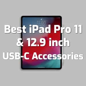 best ipad pro usb c accessories