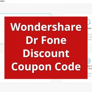 wondershare drfone discount coupon code